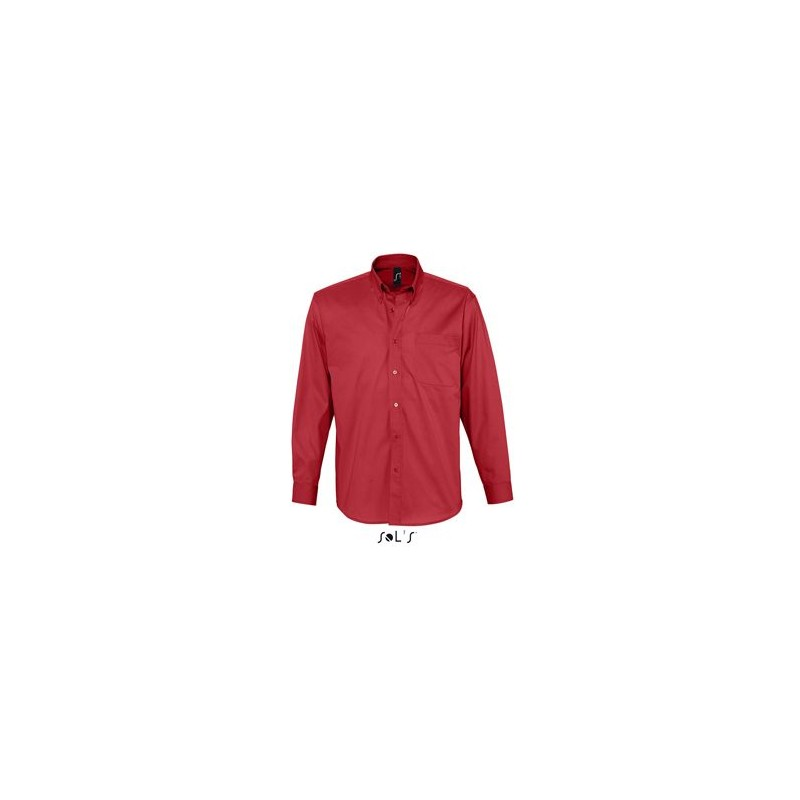 Chemise homme twill de coton Bel Air - chemise homme - cadeau d'entreprise personnalisé