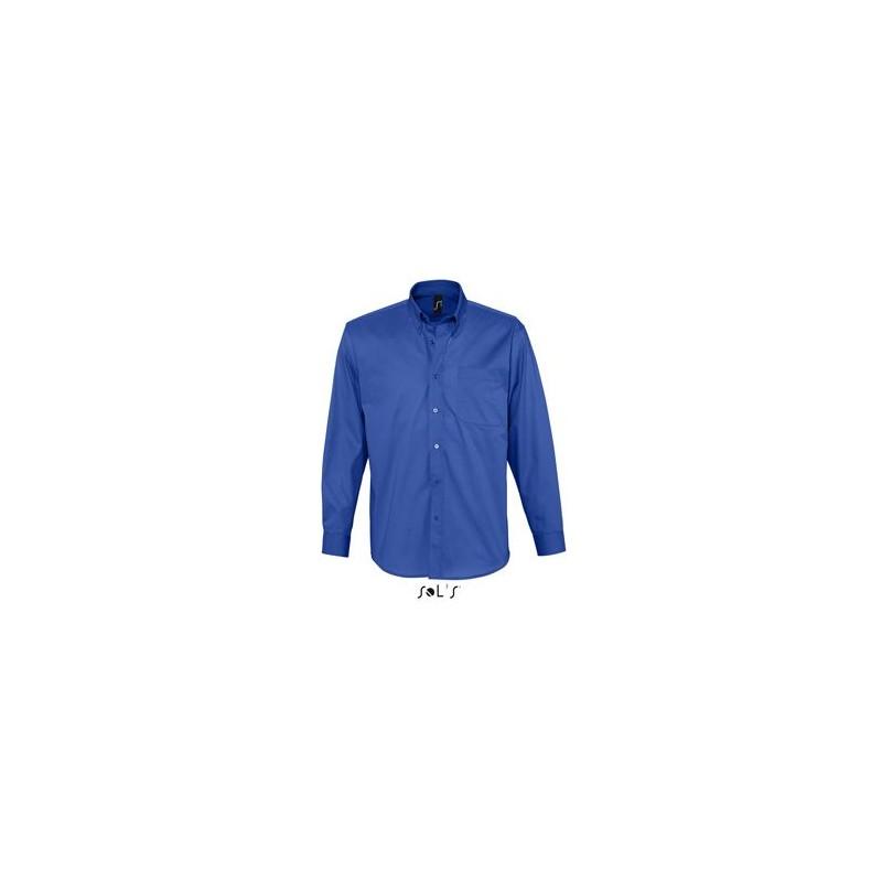 Chemise homme twill de coton Bel Air - chemise homme - publicité par l'objet