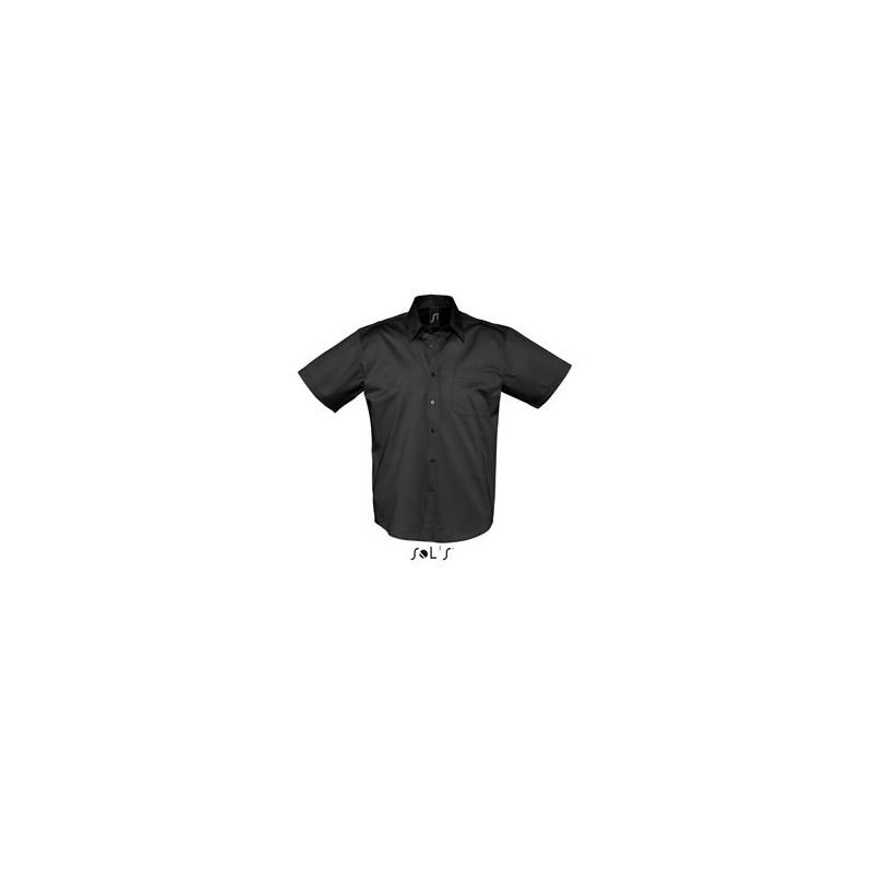 Chemisette Publicitaire homme Brooklyn - chemise publicitaire homme - cadeaux d'affaires