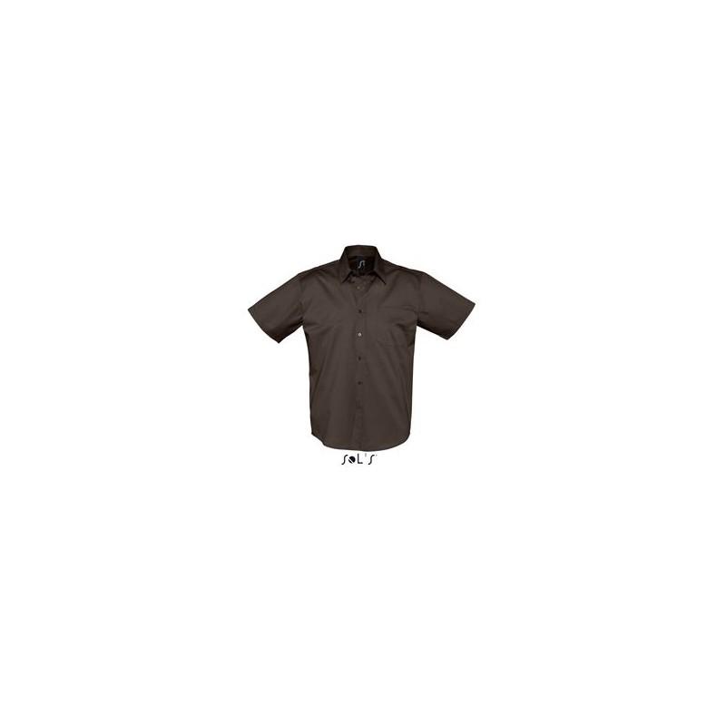 Chemisette Publicitaire homme Brooklyn - chemise publicitaire homme - cadeau d'entreprise personnalisé