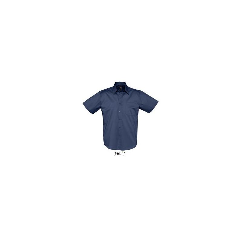 Chemisette Publicitaire homme Brooklyn - chemise publicitaire homme - publicité par l'objet