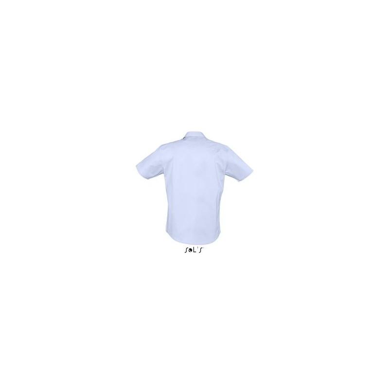 Chemise homme stretch Broadway - chemise publicitaire homme - cadeau d'entreprise personnalisé