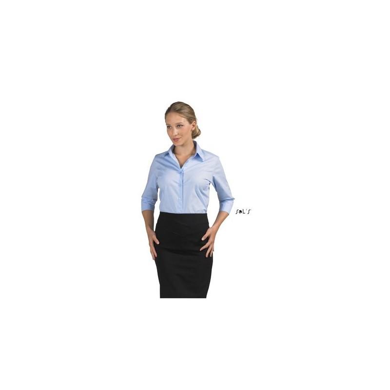 Chemise femme manches 3/4 Effect - chemise publicitaire femme - publicité par l'objet