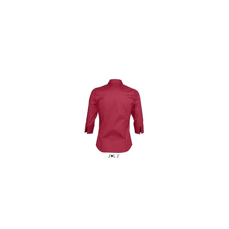 Chemise femme manches 3/4 Effect - chemise publicitaire femme - cadeaux d'affaires