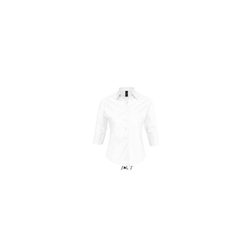 Chemise femme manches 3/4 Effect - chemise publicitaire femme - produits incentive