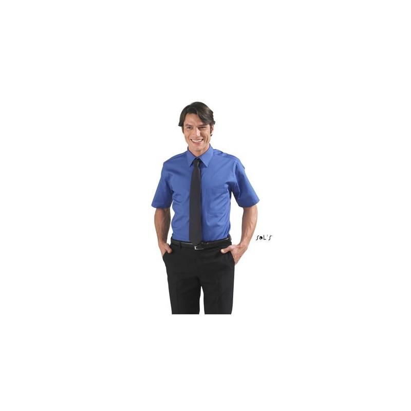 Chemise Publicitaire homme en popeline Berkeley - chemise publicitaire homme publicitaire