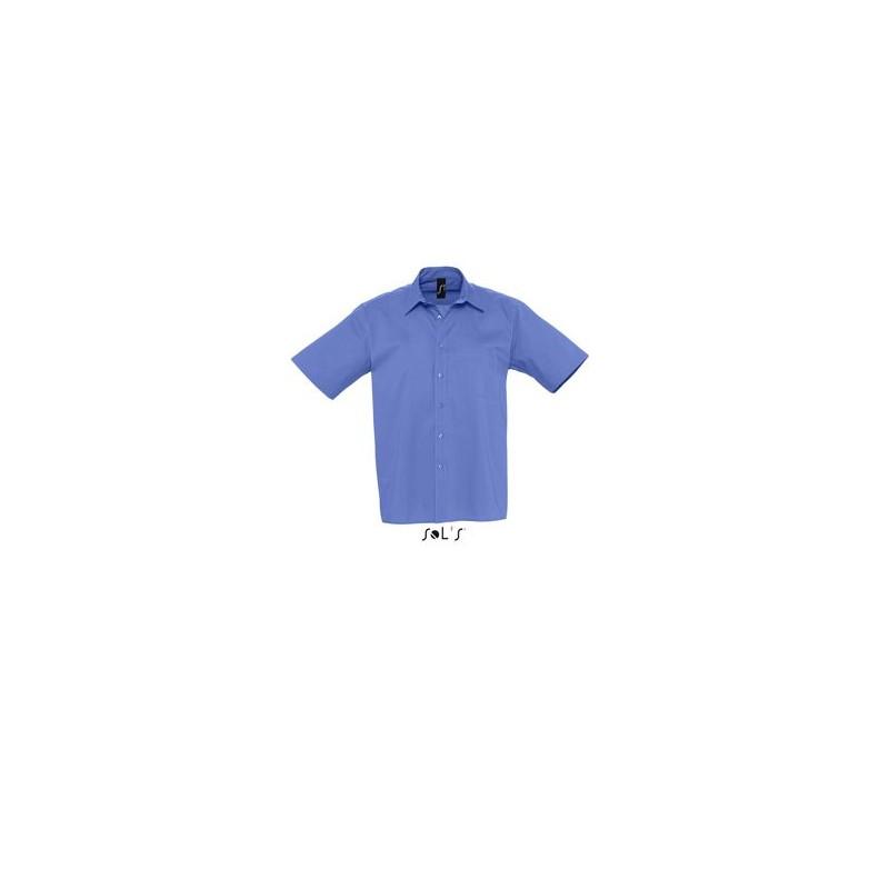 Chemise Publicitaire homme en popeline Berkeley - chemise publicitaire homme - objets publicitaires