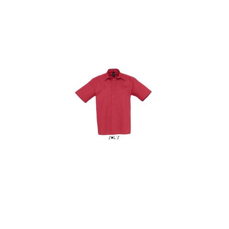 Chemise Publicitaire homme en popeline Berkeley - chemise publicitaire homme - cadeaux d'affaires