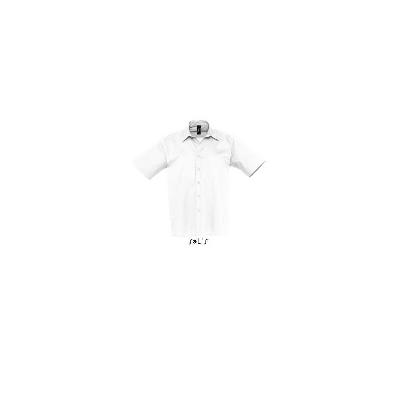 Chemise Publicitaire homme en popeline Berkeley - chemise publicitaire homme personnalisé