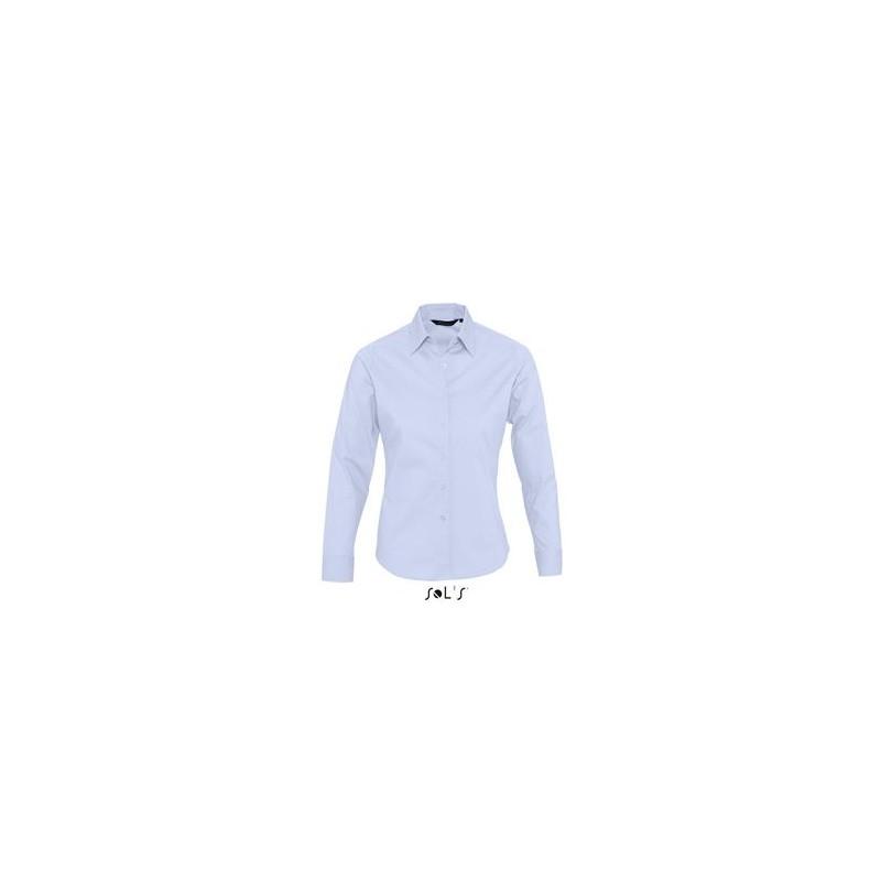 Chemise ML femme Eden - chemise publicitaire femme sur mesure