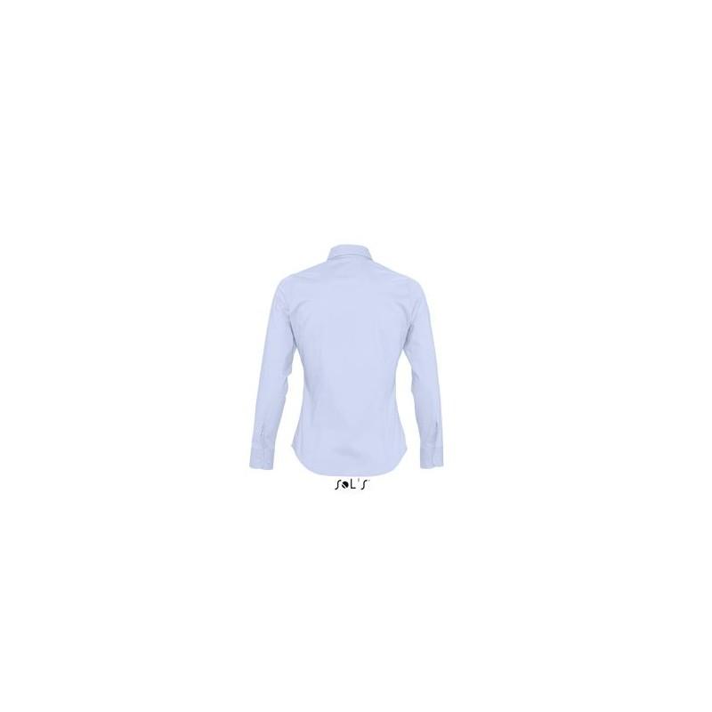 Chemise ML femme Eden - chemise publicitaire femme - objets publicitaires