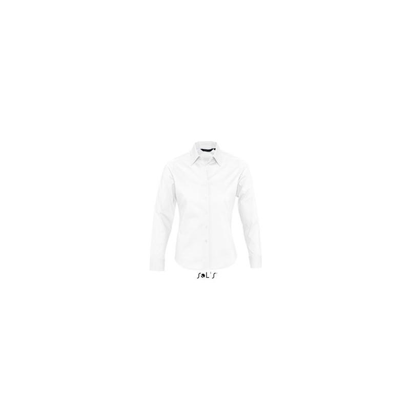 Chemise ML femme Eden - chemise publicitaire femme - cadeau d'entreprise personnalisé
