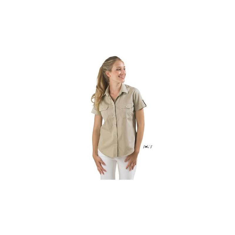 Chemise femme Botswana - chemise femme - cadeau d'entreprise personnalisé