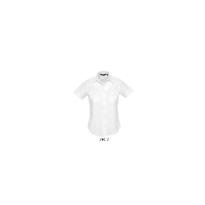 Chemise femme Botswana - chemise femme - marquage logo