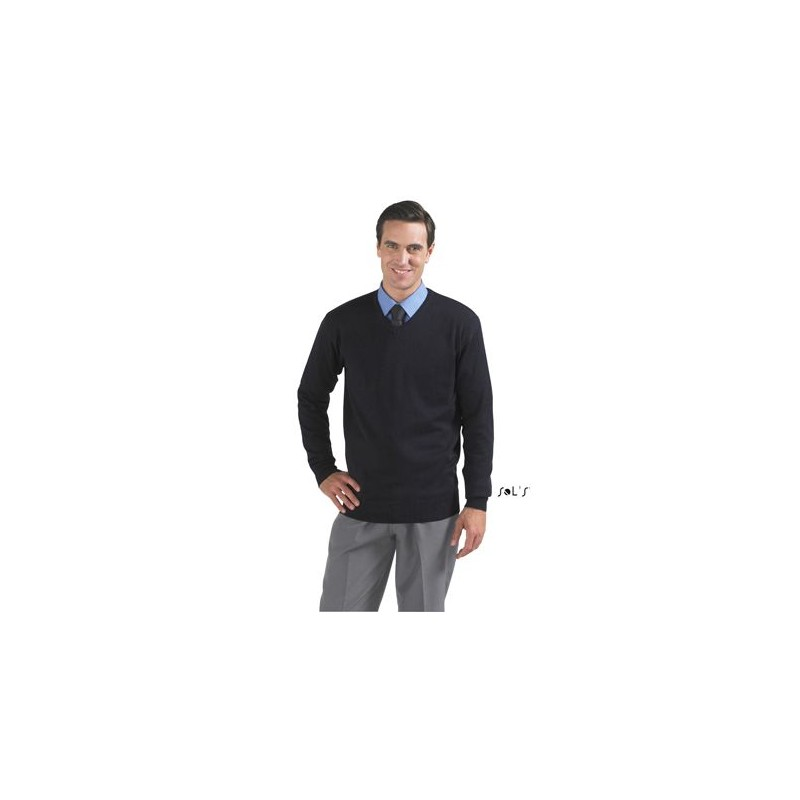 Pull homme col V Galaxy  - Pull - objets promotionnels