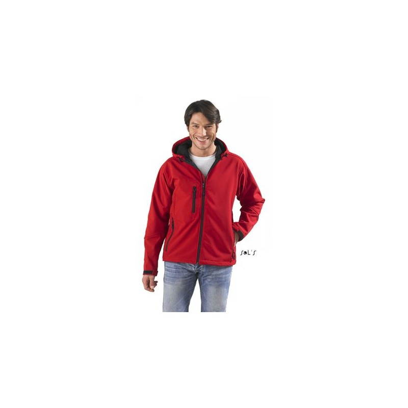 Softshell homme à capuche Replay  - Softshell publicitaire