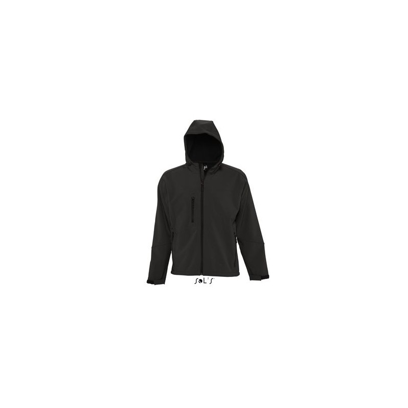 Softshell homme à capuche Replay  - Softshell sur mesure