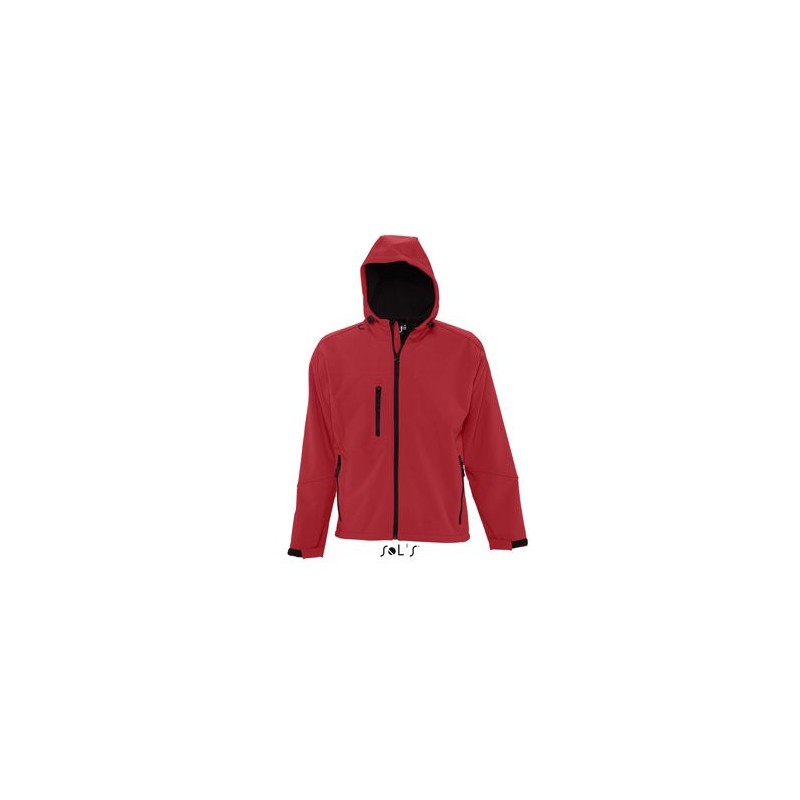 Softshell homme à capuche Replay  - Softshell - objets promotionnels