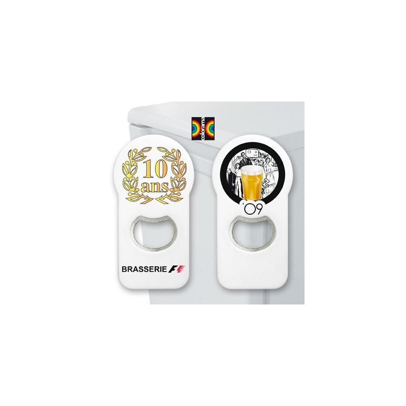 Magnet décapsuleur Colorama - Magnet publicitaire
