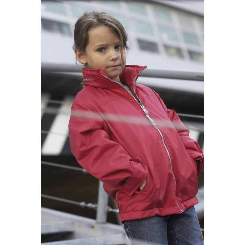 Veste publicitaire doublée polaire enfant  - Veste - cadeaux d'affaires