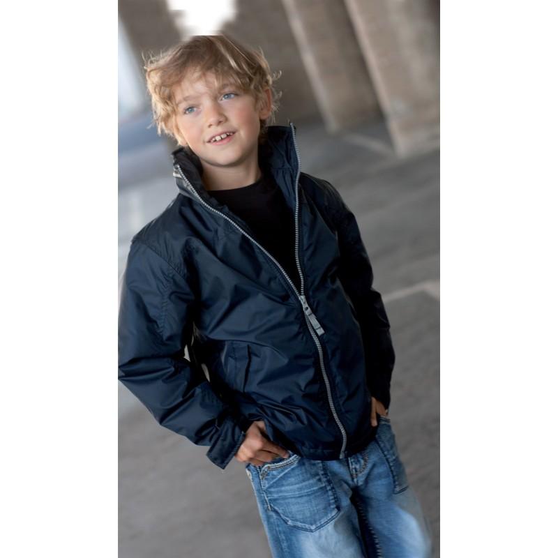 Veste publicitaire doublée polaire enfant  - Veste - produits incentive