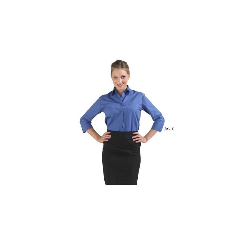 Chemise publicitaire femme manches 3/4 Eternity - chemise publicitaire femme sur mesure