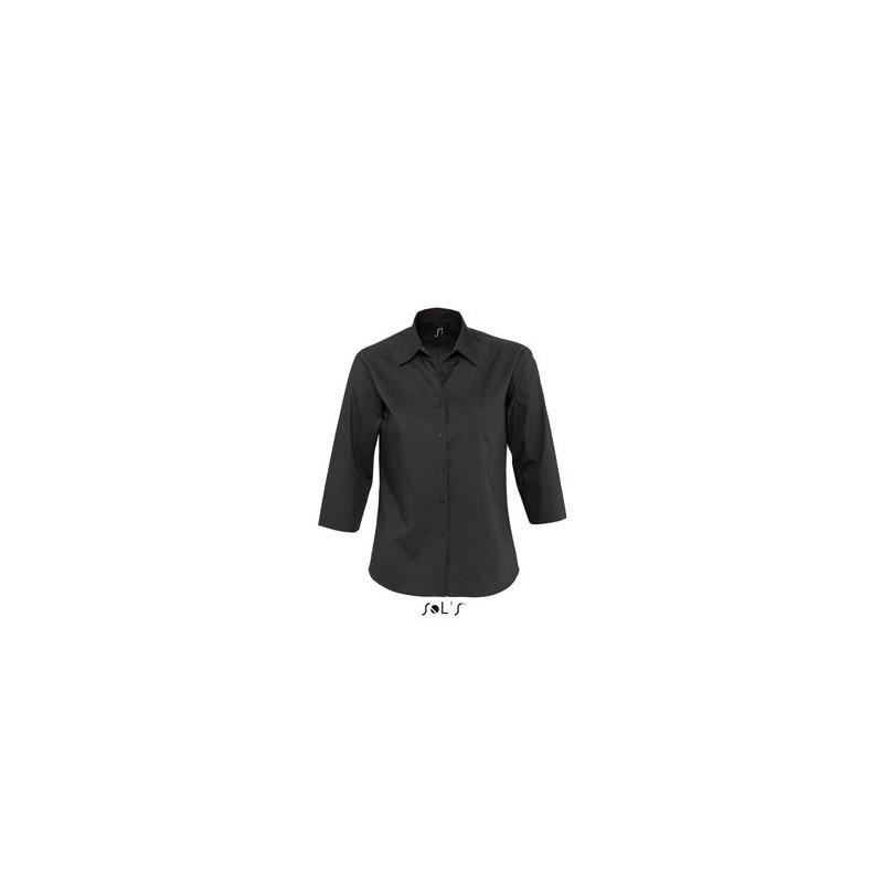 Chemise publicitaire femme manches 3/4 Eternity - chemise publicitaire femme - objets publicitaires