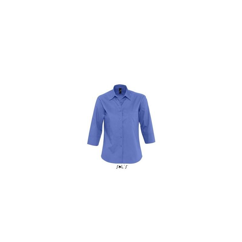 Chemise publicitaire femme manches 3/4 Eternity - chemise publicitaire femme publicitaire