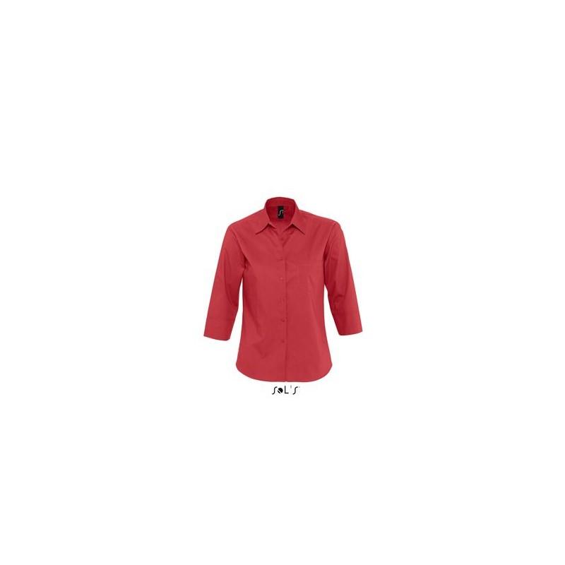 Chemise publicitaire femme manches 3/4 Eternity - chemise publicitaire femme - objets promotionnels