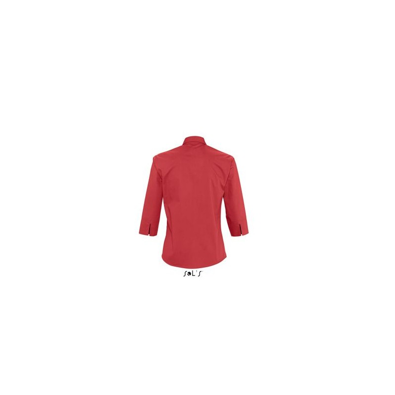 Chemise publicitaire femme manches 3/4 Eternity - chemise publicitaire femme - cadeaux d'affaires