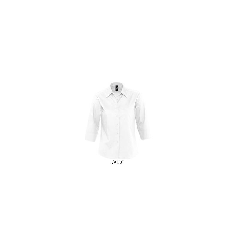 Chemise publicitaire femme manches 3/4 Eternity - chemise publicitaire femme - produits incentive