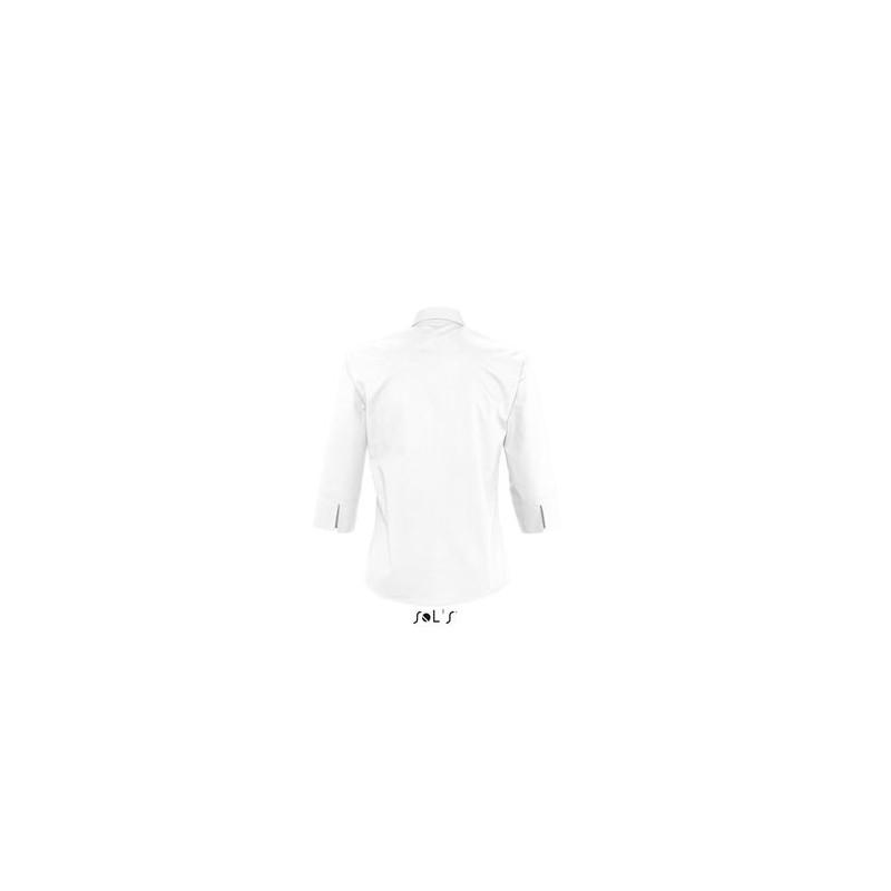 Chemise publicitaire femme manches 3/4 Eternity - chemise publicitaire femme - marquage logo