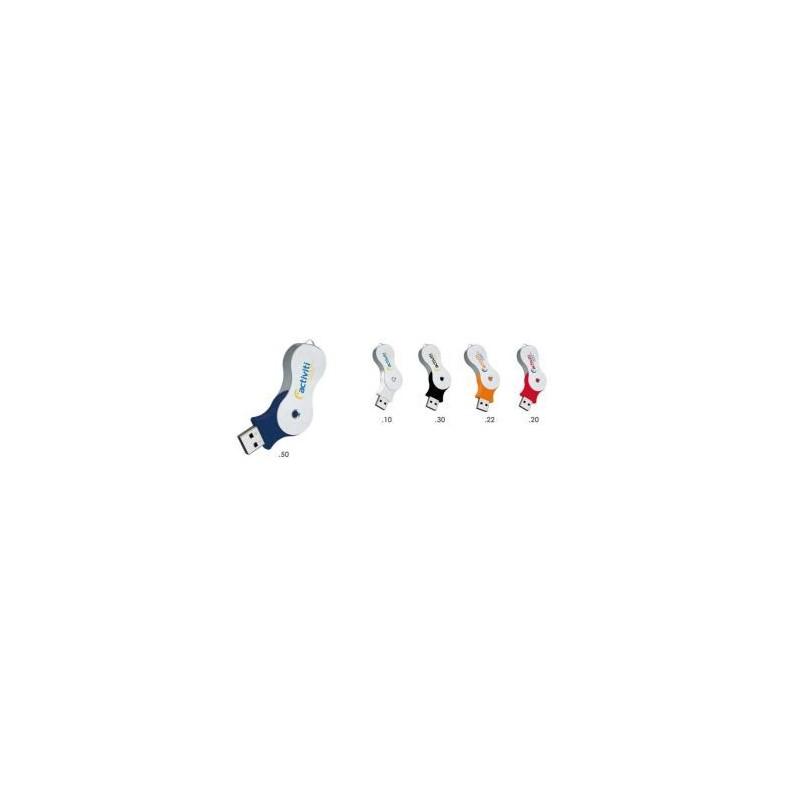 Clé USB publicitaire Infinity - Clé USB rotative publicitaire - objets publicitaires