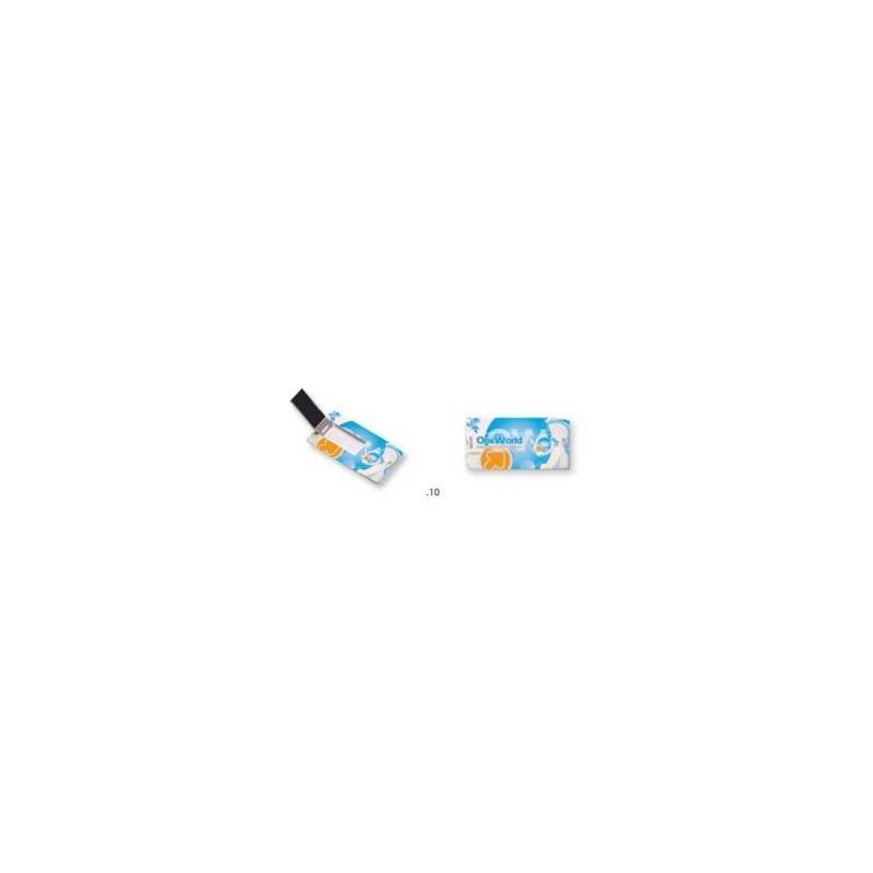 Clé USB publicitaire Mini card - Clé USB carte de crédit publicitaire - produits incentive