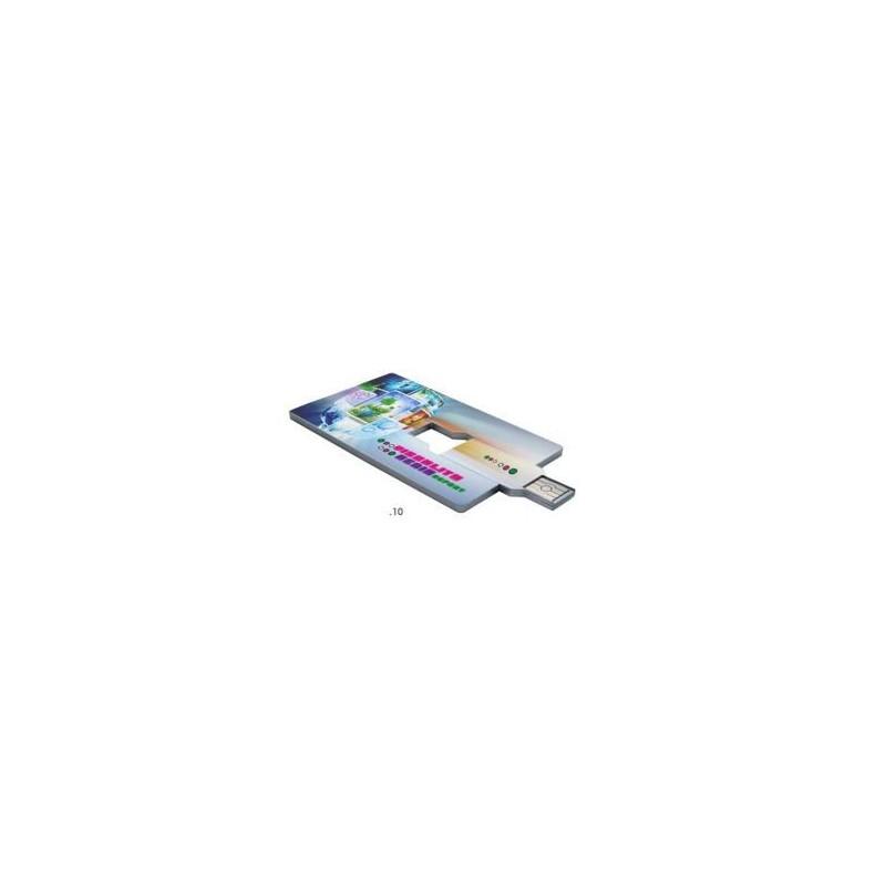 Clé USB Card - Clé USB carte de crédit publicitaire publicitaire