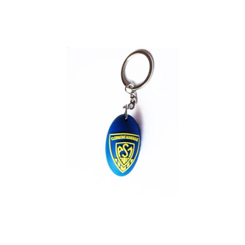 89-001 Porte-clés ballon de rugby personnalisé personnalisé