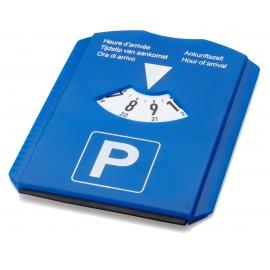 Disque de stationnement publicitaire - norme européenne