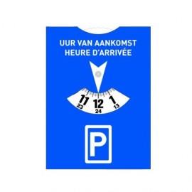 Disque de stationnement personnalisé - norme européenne