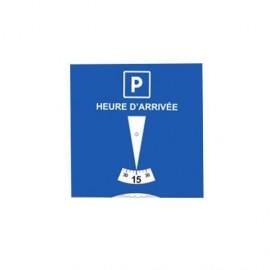Disque de stationnement personnalisable - norme européenne