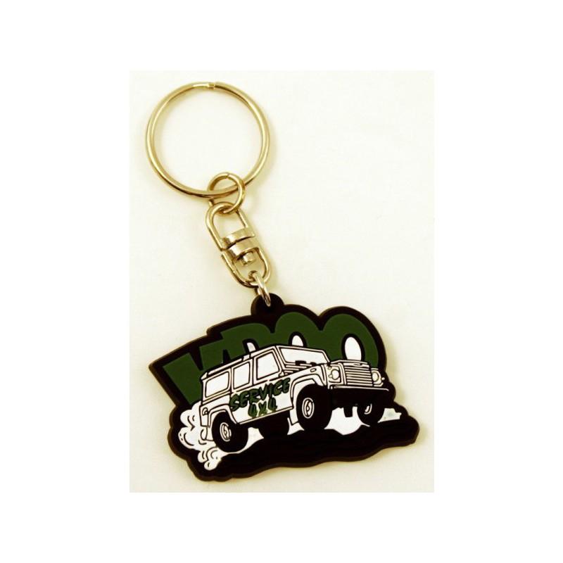 Porte-clés PVC souple 2D - Porte-clés ABS / PVC  - objets publicitaires
