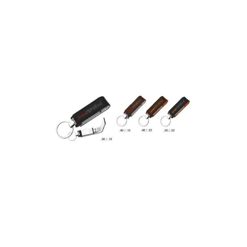 Clé USB 2.0 Keyring - Clé USB porte-clés publicitaire - cadeaux d'affaires