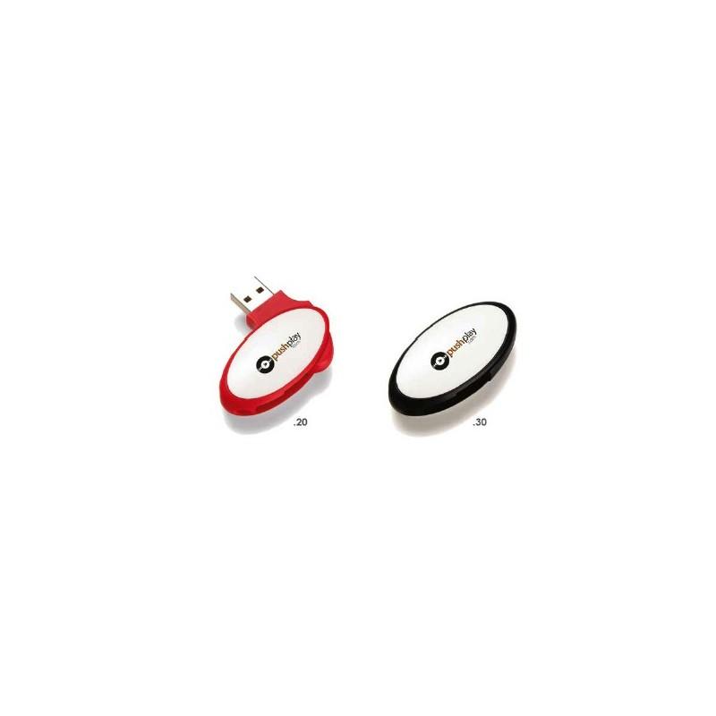 Clé USB 2.0 Stick - Clé USB rotative - objets publicitaires