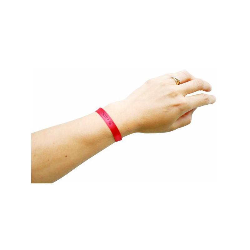 Bracelet en satin publicitaire - Autres bracelets publicitaires publicitaire
