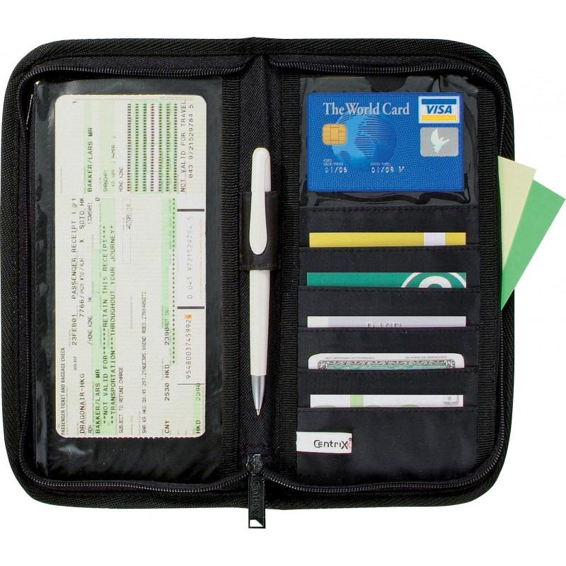Pochette Travel zippée - Compagnon de voyage - objets promotionnels
