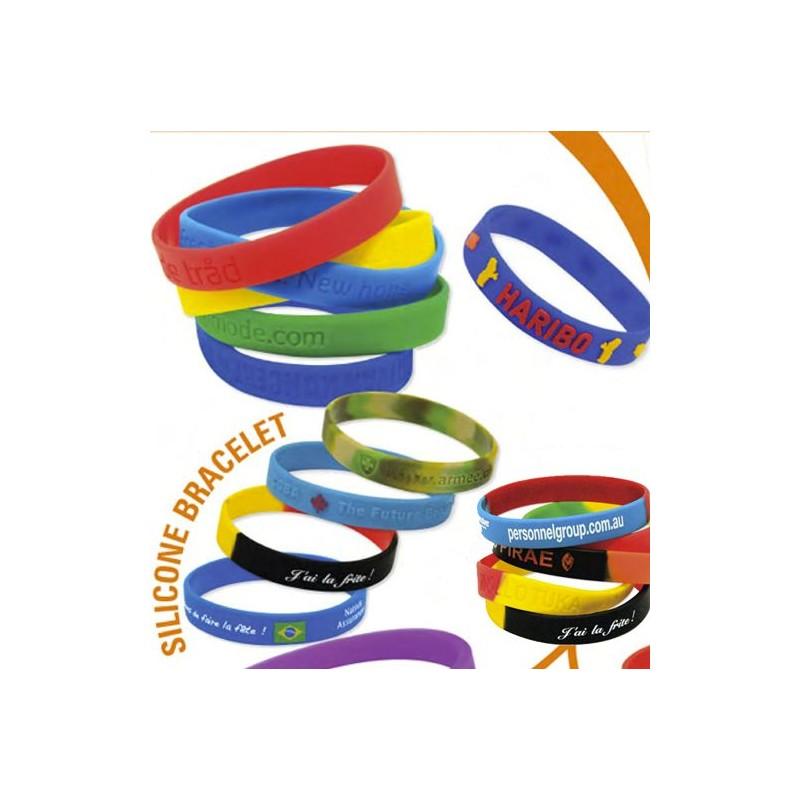 Bracelet silicone personnalisé - Nos meilleures ventes personnalisé