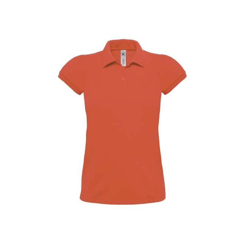 Polo femme Heavymill B&C - Polo manches courtes - produits incentive