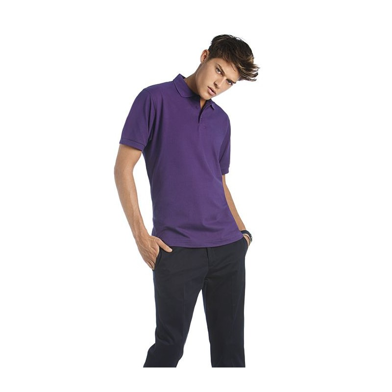 Polo homme Heavymill B&C - Polo homme publicitaire