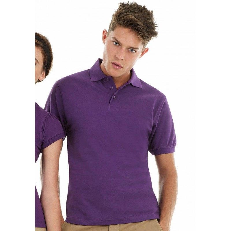 Polo homme Heavymill B&C - Polo homme personnalisé