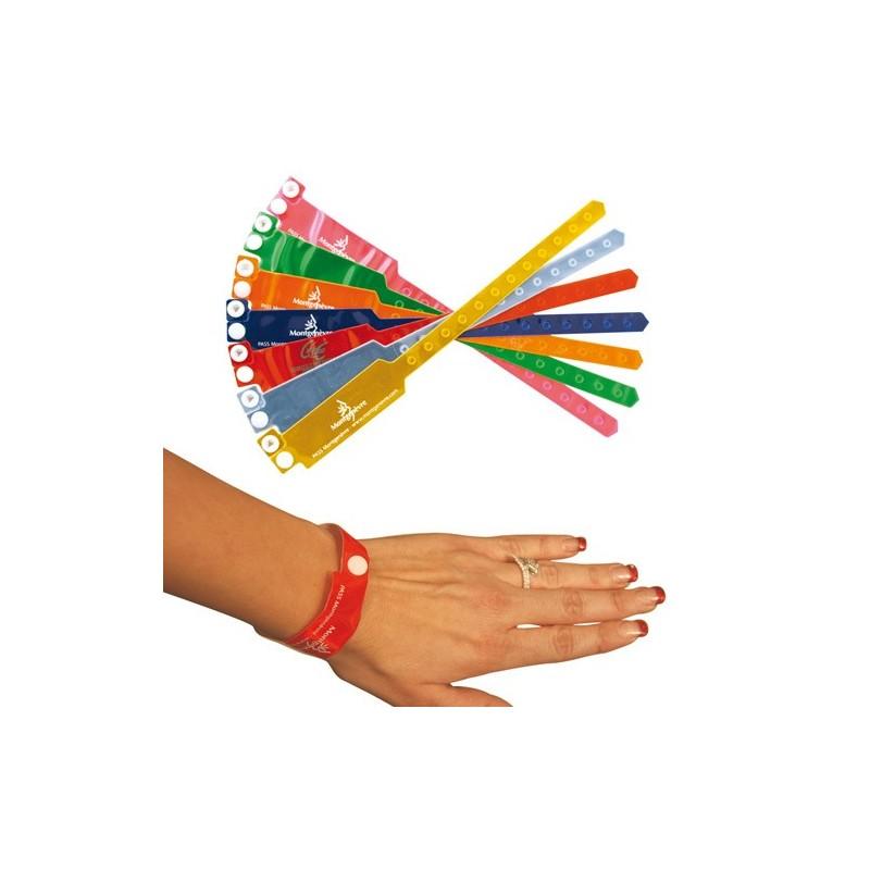 Bracelet inviolable personnalisé - Autres bracelets publicitaires publicitaire