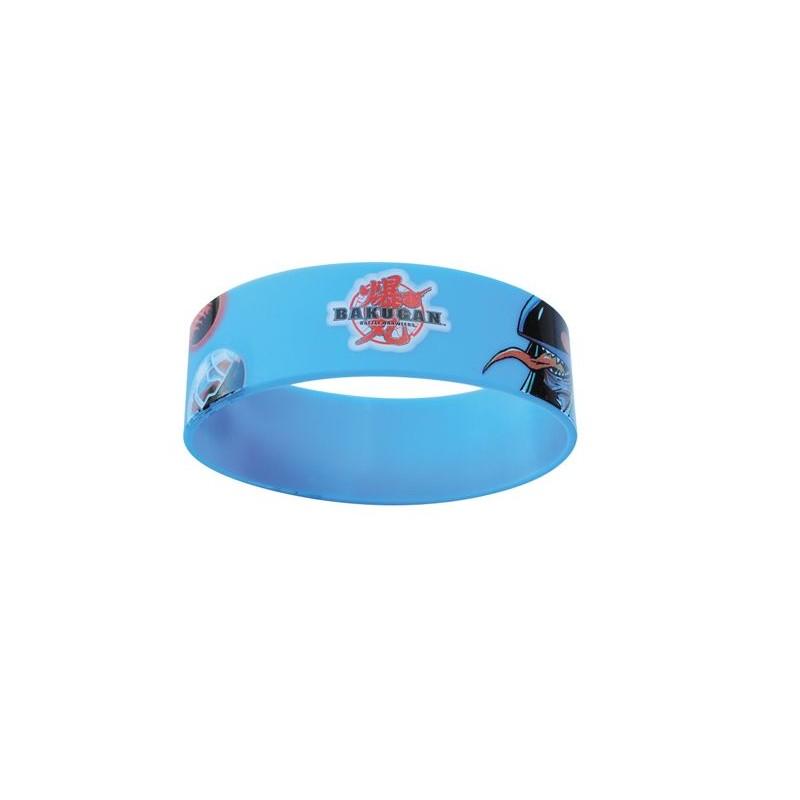 Bracelet en silicone personnalisé Quattro - Bracelet en silicone publicitaire personnalisé